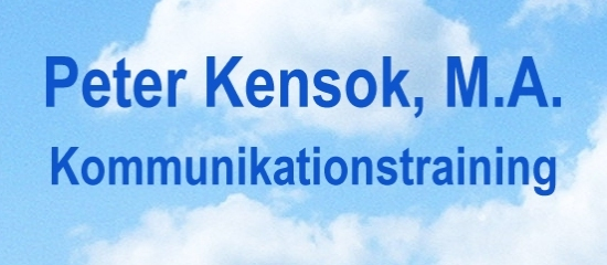 Peter Kensok, M.A. - Kommunikationstraining
